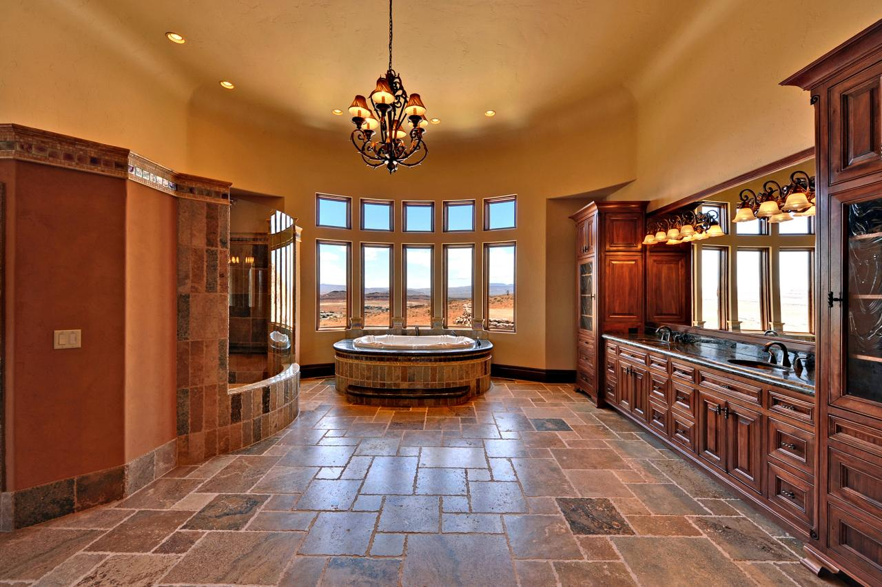 Stone cliff estate 3 800 000 pricey pads for Affordable pools st george utah