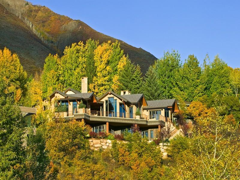 Red mountain estate 18 900 000 pricey pads for Colorado mountain homes