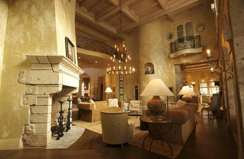 Stupendous Tuscan Style Interior Decorating Home Decore Inspiration Largest Home Design Picture Inspirations Pitcheantrous
