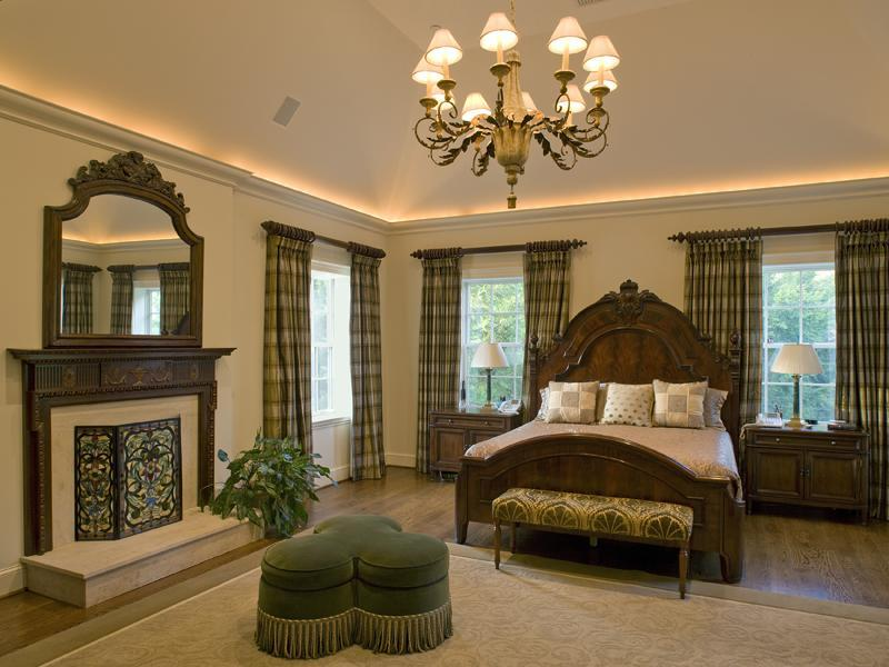 Master Bedroom with Fireplace | Pricey Pads