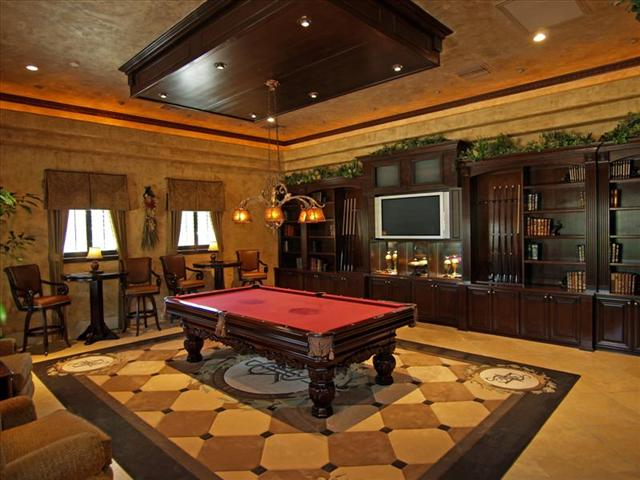 Main Home Billiard Room Pricey Pads