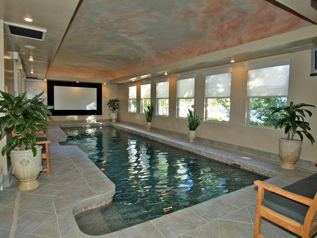Main House Indoor Pool | Pricey Pads