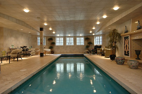 Kimora lee 39 s mansion sold pricey pads for White house swimming pool indoor