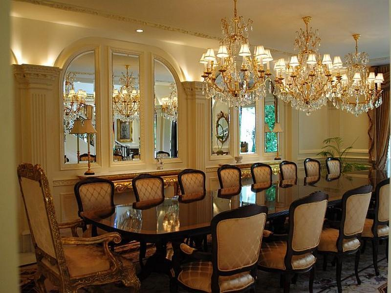Formal dining room pricey pads for Pictures of formal dining rooms