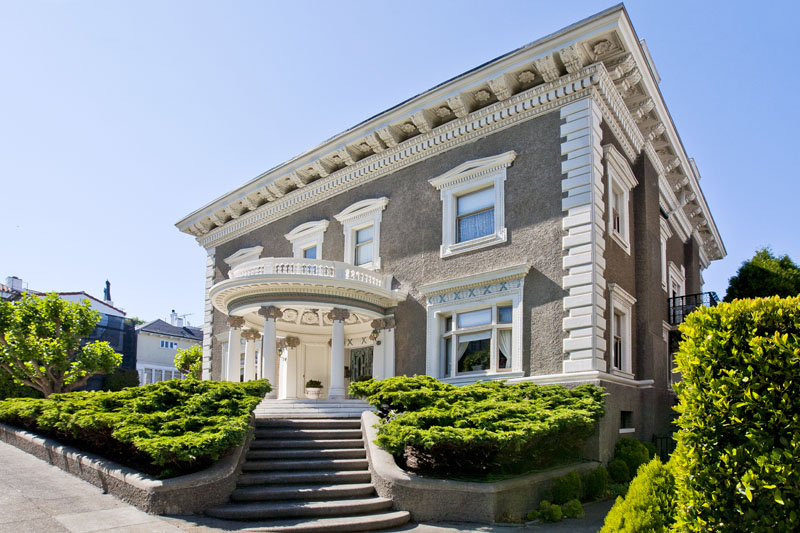 Pacific Heights Historical Mansion 11 200 000 Pricey Pads