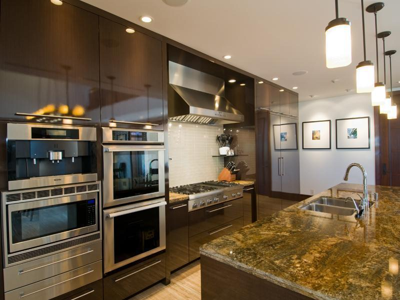 Contemporary Dream Kitchen new kailua beachfront – $12,995,000 | pricey pads