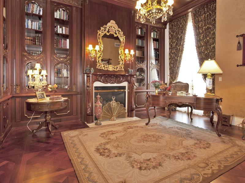 Victorian Interior Design Features: Magnificent French Chateau