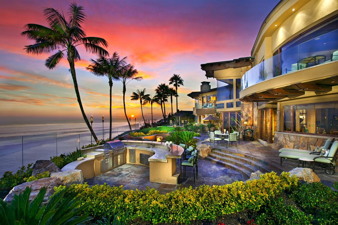 Step into paradise 29 000 000 pricey pads for House and home ca
