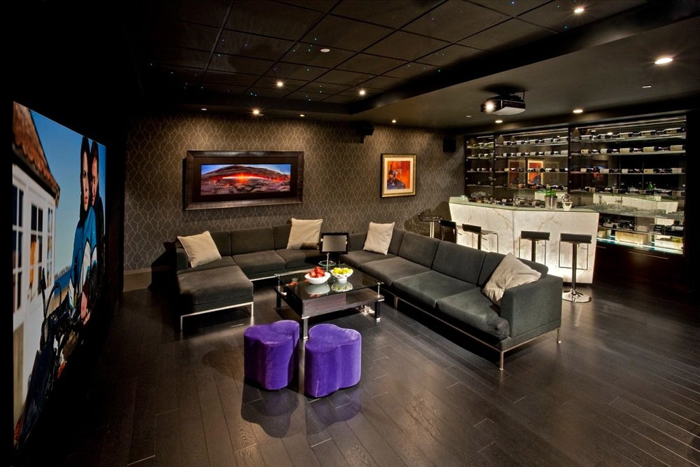 Architectural distinction 11 880 000 pricey pads for Home bar game room