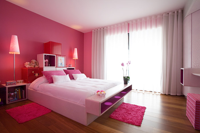 Pink Luxury Bedroom