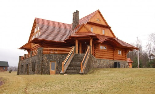 One-of-a-Kind Custom Log Chalet – $2,300,000