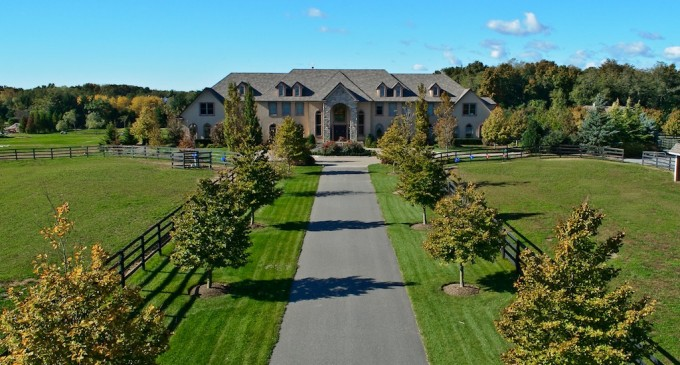 Country Estate on 37 Acres – $8,900,000