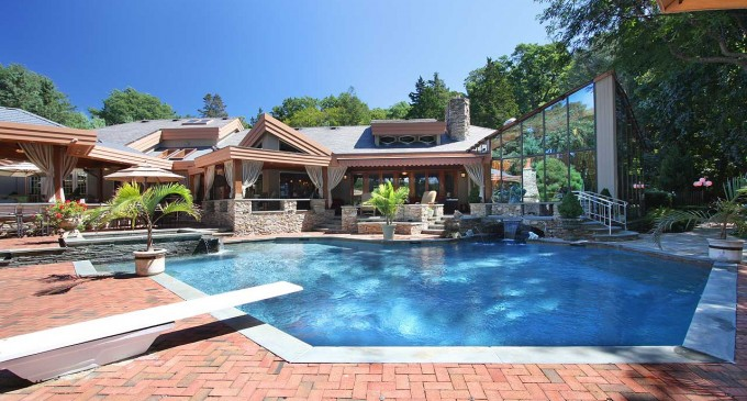 Fully Renovated Waterfront Estate – $8,200,000