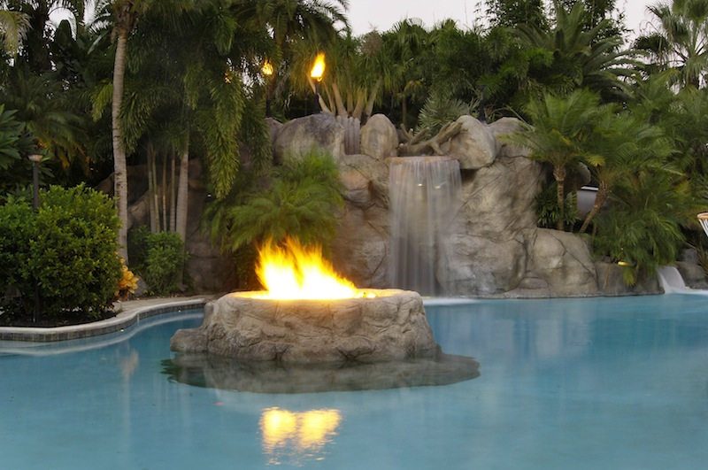 Waterfall Pit Fire Pricey Pads