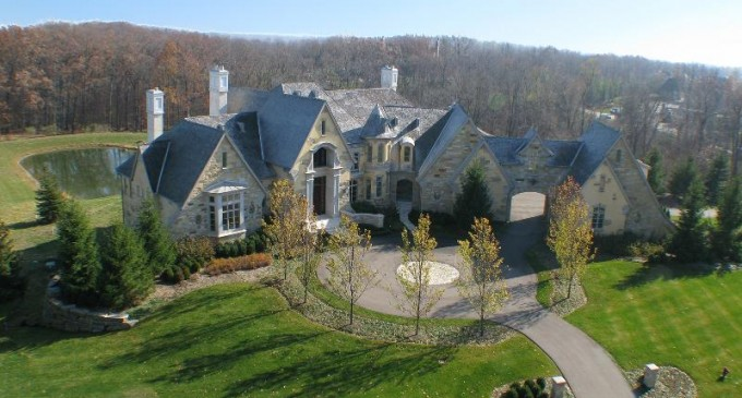 Unfinished French Normandy Estate – $7,500,000