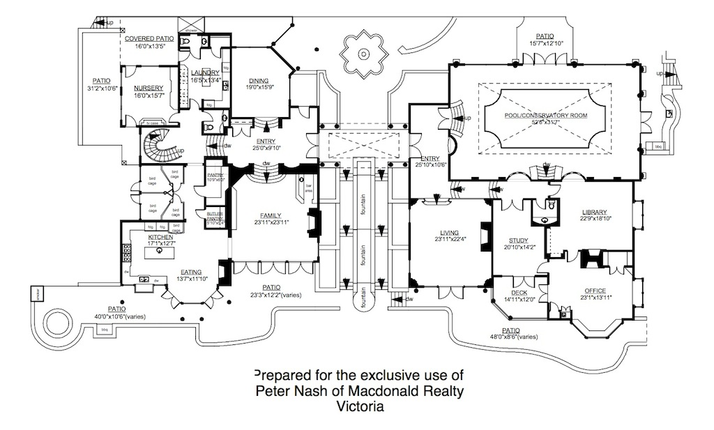 Z - Floor Plan Main House | Pricey Pads