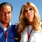 Petra Ecclestone with fiance James Stunt.