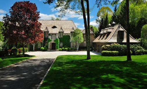 Lakefront European Country Estate – $13,995,000