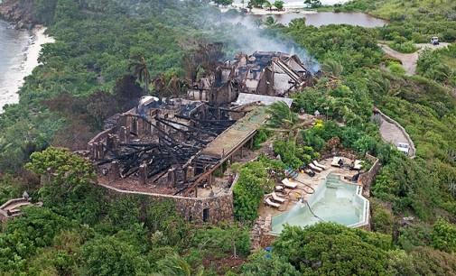 Fire Destroys Richard Branson's Island Retreat
