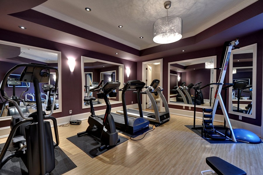 Atherton turreted chateau 24 000 000 pricey pads for Luxury home gym