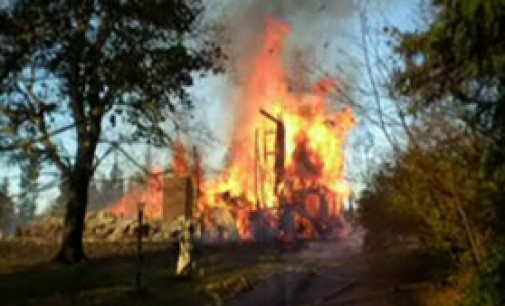 Hetherberton House Burns to the Ground