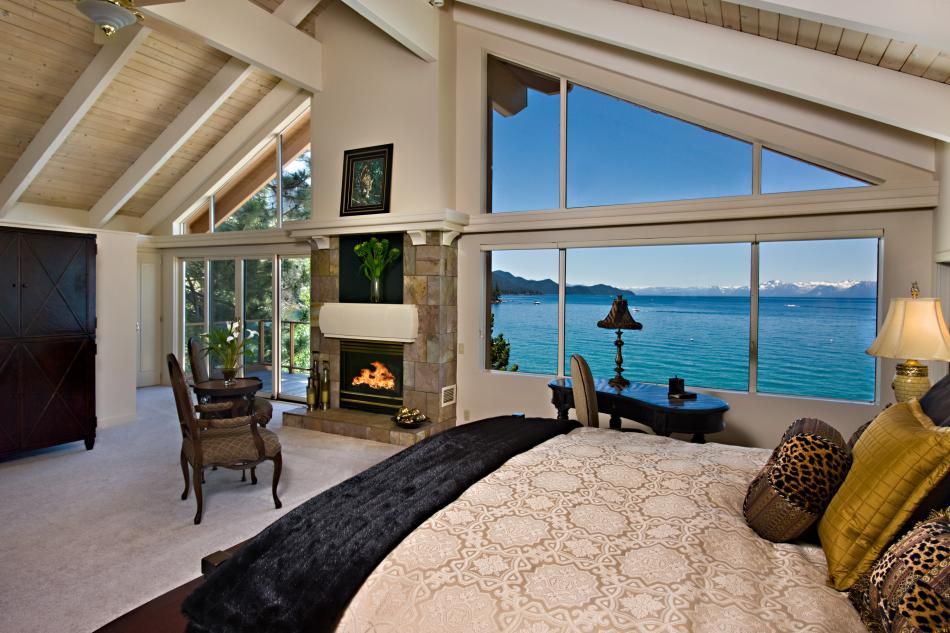440  of Shoreline on Lake Tahoe  3 Guest Houses  Auto Elevator  12 000  Sq  Ft  Underground Garage  High Tech Security System. Sierra Star Estate    49 900 000   Pricey Pads