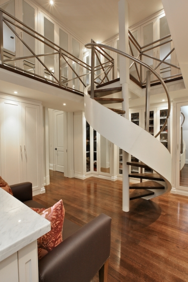 2 story closet with spiral staircase the dream closet for 2 story spiral staircase