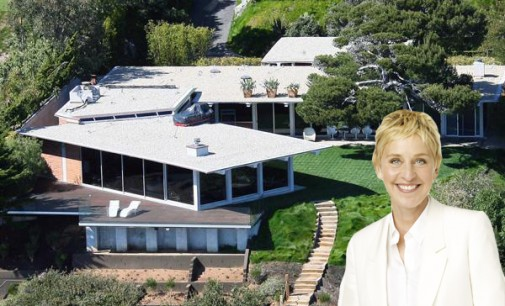 Ellen Degeneres the Buyer of Brad Pitt's Malibu Home