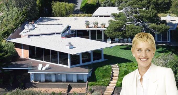 Ellen Degeneres the Buyer of Brad Pitt's Malibu Home