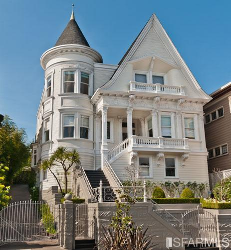 Elegant victorian mansion 3 800 000 pricey pads for San francisco victorian houses