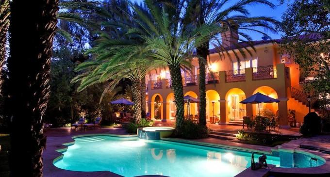 Exquisite Mediterranean Estate – $11,500,000