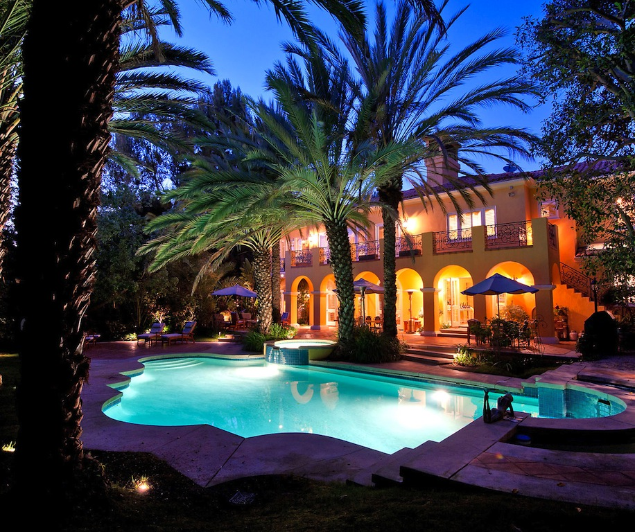 Los Angeles California Rich Houses: Beverly Hills