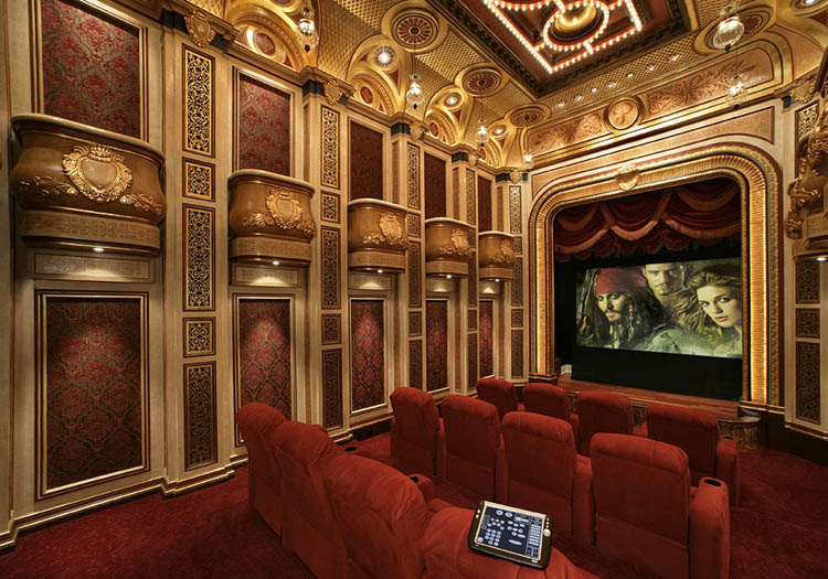 The ultimate recreation room pricey pads for Luxury home theater rooms