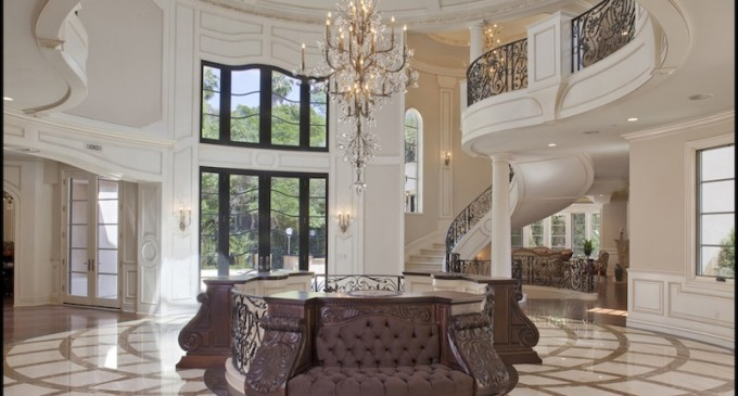 Bel Air Mansion With Ferrari Foyer Pricey Pads
