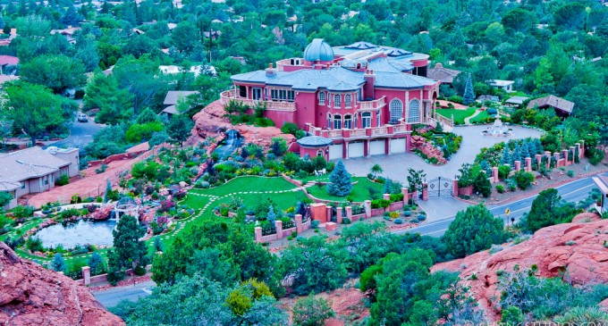 Romanian Mansion in Sedona