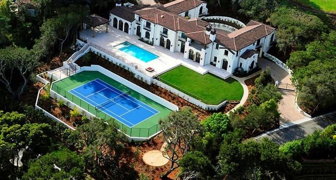Brand New Italian Villa – $14,500,000