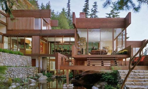 Arthur Erickson's c.1962 Graham House in West Vancouver Demolished (PHOTOS)