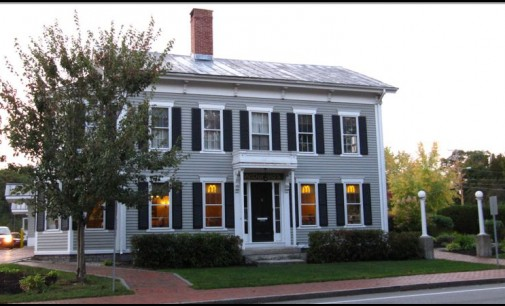 1850's Greek Revival Home turned into Mc Donalds