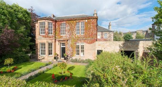 J.K. Rowling's Edinburgh Home – £2,250,000