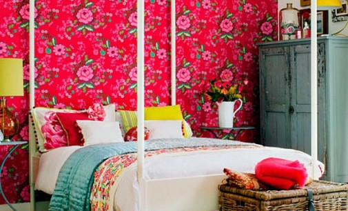 Eclectic & Colourful Bedrooms
