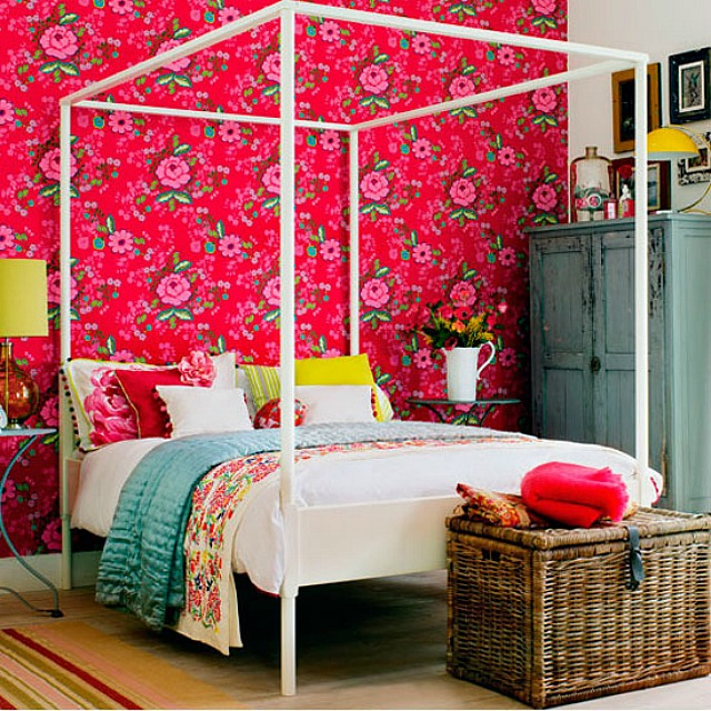 Colorful Bedroom: Eclectic & Colourful Bedrooms