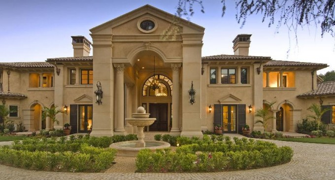 America s youngest female billionaire s mansion pricey pads for Billionaire homes in usa