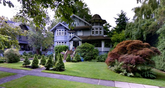 Vancouver Mansion in 'Happy Gilmore'