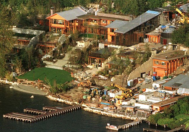 Fotos Inside Bill Gates House Pictures Interior And