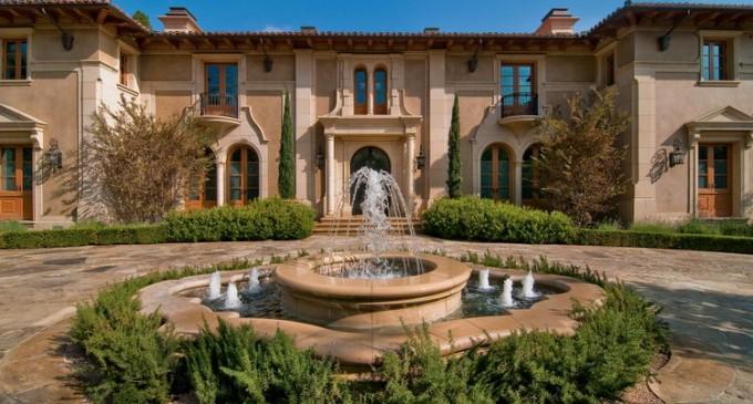 Gated Mediterranean Estate – $36,000,000