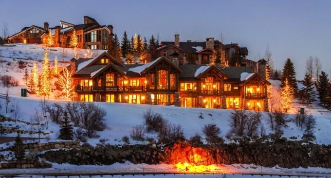 Spectacular Mountain Lodge – $10,000,000