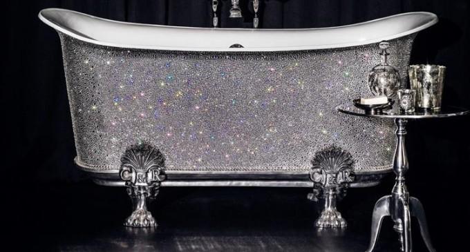 The $229,000 Swarovski Tub