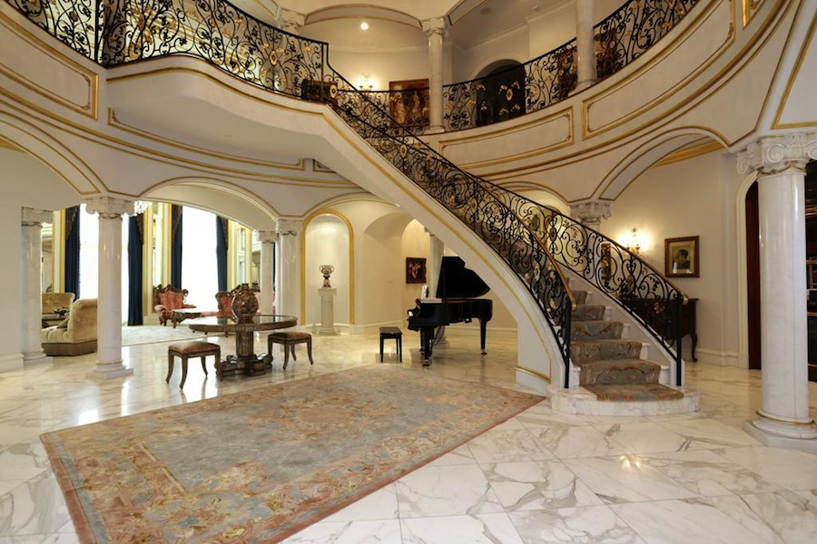 21st century belle epoch french chateau 7 999 980 Inside staircase in houses
