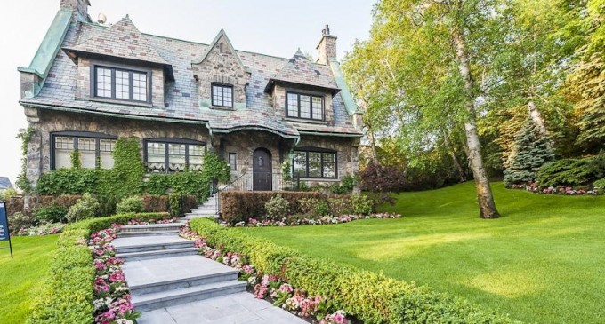 Stately Stone Residence – $3,995,000