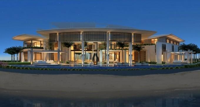 SAOTA Unveils Plans for 91,000 Sq. Ft. Dubai Mansion